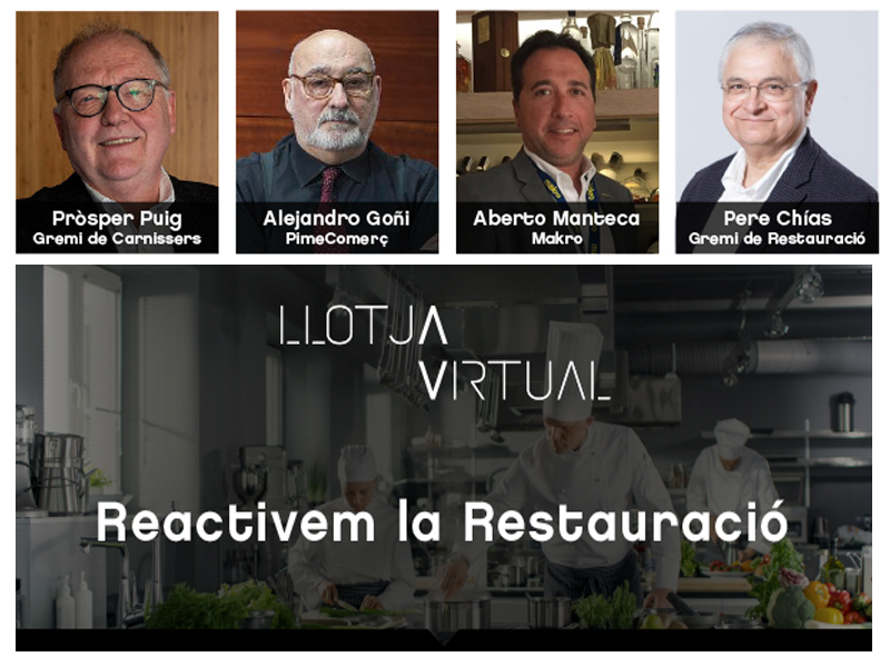 Llotja virtual: Reactivem la restauració
