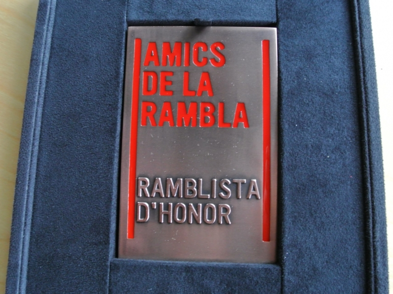 Guardons Ramblista d'Honor 2015